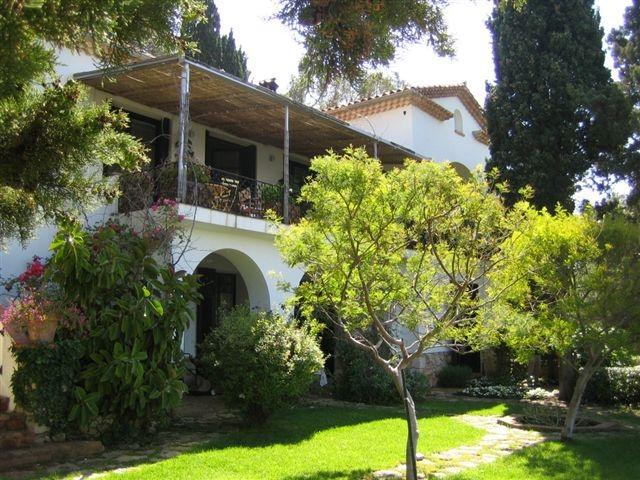 Villa Santo Sospir : Mythologies en fresques